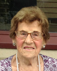 Mary Edna Charlotte Vecchio Pappalardo on her 100th Birthday (2017)